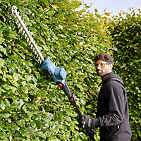Erbauer Pole 18V 450mm Cordless Hedge trimmer