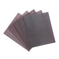 Erbauer Semi-friable aluminium oxide Assorted Hand sanding sheets, Set of 5