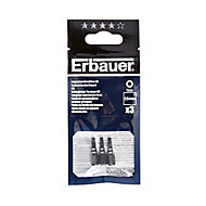 Erbauer TX15 Impact Screwdriver bits 25mm, Pack of 3