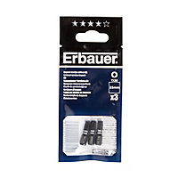 Erbauer TX30 Impact Screwdriver bits 25mm, Pack of 3
