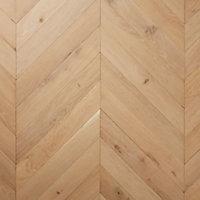 Eslov Natural Oak Solid wood Flooring Sample