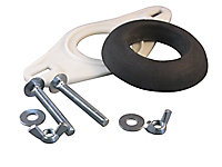 Euroflo Black & white Close-coupling kit for Close coupled cistern