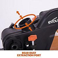 Evolution 2000W 240V 255mm Sliding mitre saw R255SMS