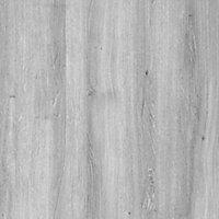 Exmoor Flush Grey Oak veneer Internal Door, (H)1980mm (W)686mm
