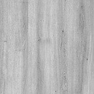 Exmoor Flush Grey Oak veneer Internal Door, (H)1980mm (W)762mm (T)40mm