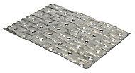 Expamet Galvanised Steel Jointing plate, Pack of 10