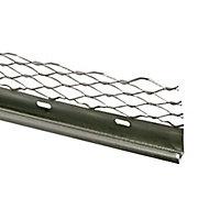 Expamet Galvanised steel Stop bead, (L)3m (W)60mm