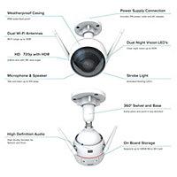 EZVIZ Full HD Wi-Fi Wired Outdoor Smart IP camera