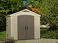 Factor 8x6 Apex Plastic Shed