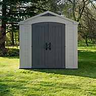 Factor 8x8 Apex Plastic Shed