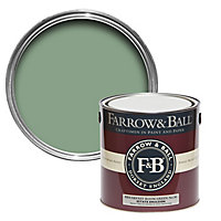 Farrow & Ball Estate Breakfast room green No.81 Matt Emulsion paint 2.5L