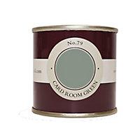 Farrow & Ball Estate Card room green No.79 Emulsion paint 100ml Tester pot