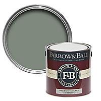Farrow & Ball Estate Card room green No.79 Matt Emulsion paint, 2.5L