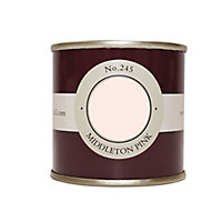 Farrow & Ball Estate Middleton pink No.245 Emulsion paint 100ml Tester pot