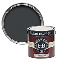 Farrow & Ball Estate Off-black No.57 Matt Emulsion paint, 2.5L