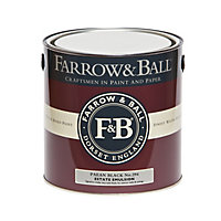 Farrow & Ball Estate Paean black No.294 Matt Emulsion paint, 2.5L