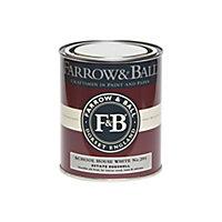 Farrow & Ball Estate School house white No.291 Eggshell Metal & wood paint, 0.75L