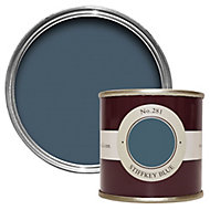 Farrow & Ball Estate Stiffkey blue No.281 Emulsion paint 100ml Tester pot