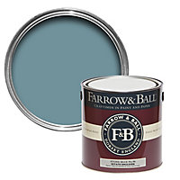 Farrow & Ball Estate Stone blue No.86 Matt Emulsion paint 2.5L