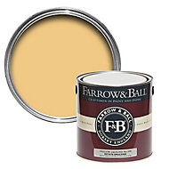 Farrow & Ball Estate Yellow ground No.218 Matt Emulsion paint 2.5L
