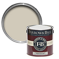 Farrow & Ball Modern Shaded white No.201 Matt Emulsion paint 2.5L