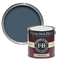 Farrow & Ball Modern Stiffkey blue No.281 Matt Emulsion paint 2.5L