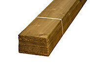 Feather edge Fence slat (L)1.8m (W)125mm (T)11mm, Pack of 16