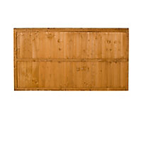 Fence panel (W)1.83m (H)0.93m, Pack of 5
