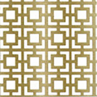 FFA Concept Gold effect Aluminium Embossed Sheet, (H)1000mm (W)500mm (T)1mm