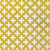 FFA Concept Gold effect Aluminium Embossed Sheet, (H)500mm (W)500mm (T)1mm