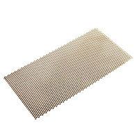 FFA Concept Gold effect Anodised Aluminium Sheet, (H)500mm (W)250mm (T)1mm