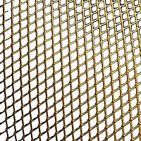 FFA Concept Gold effect Anodised Aluminium Sheet, (H)500mm (W)500mm (T)1mm