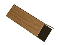 FFA Concept Oak effect PVC Corner panel, (L)1m (W)20mm