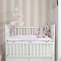 Fine Décor Little candy Pink Mica effect Smooth Wallpaper