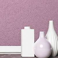 Fine Décor Pink Sparkle Glitter effect Embossed Wallpaper