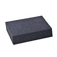 Fine/Medium Angled sanding sponge (L)125mm (W)75mm