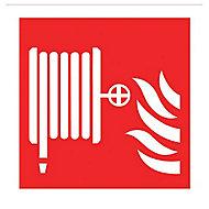 Fire hose reel symbol Fire information sign, (H)200mm (W)200mm