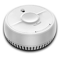 FireAngel 9B-SB1-TP-R Optical Smoke & carbon monoxide Alarm with 1-year battery, Pack of 2