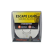 FireAngel ST-623E-R Thermoptek Smoke Alarm with 5-year batteries & Escape light