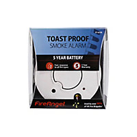 FireAngel Toast Proof ST-625R Thermoptek Smoke Alarm with 5-year batteries