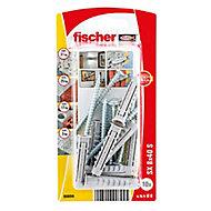 Fischer Nylon & steel Wall plug (L)40mm (Dia)6mm, Pack of 10