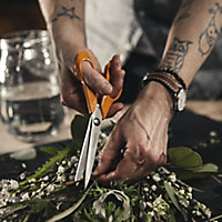 """Fiskars 8.27"""" Stainless steel Garden scissors"""