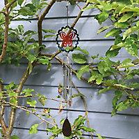 Flamboya Butterfly Wind spinner 47cm