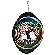 Flamboya Tree Wind spinner 30cm