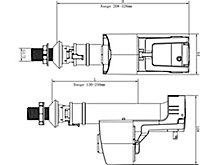 """Flomasta Brass & plastic Bottom entry Fill valve, ½"""""""