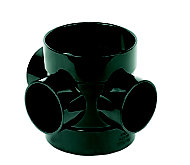 FloPlast Ring seal soil Black Boss pipe, (Dia)110mm (L)141mm