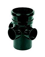 FloPlast Ring seal soil Black Boss pipe, (Dia)110mm (L)148mm