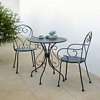 Flores Metal Table & chair set