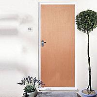 Flush LH & RH External Fire Door, (H)1981mm (W)762mm