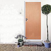 Flush LH & RH External Fire Door, (H)1981mm (W)838mm